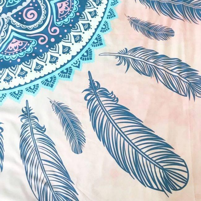 Housse de Couette + 2 Taies d'oreillers Indian Mandala