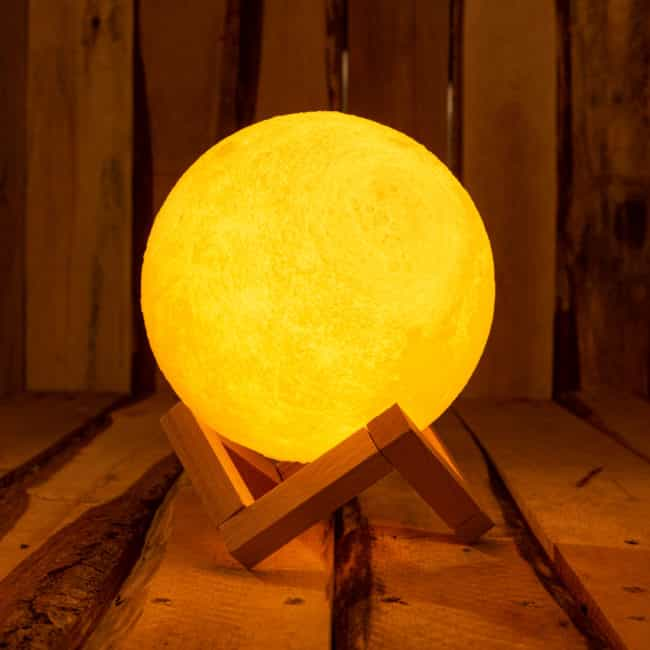Lampe Lune Objet deco zen Lampes d'ambiance zen