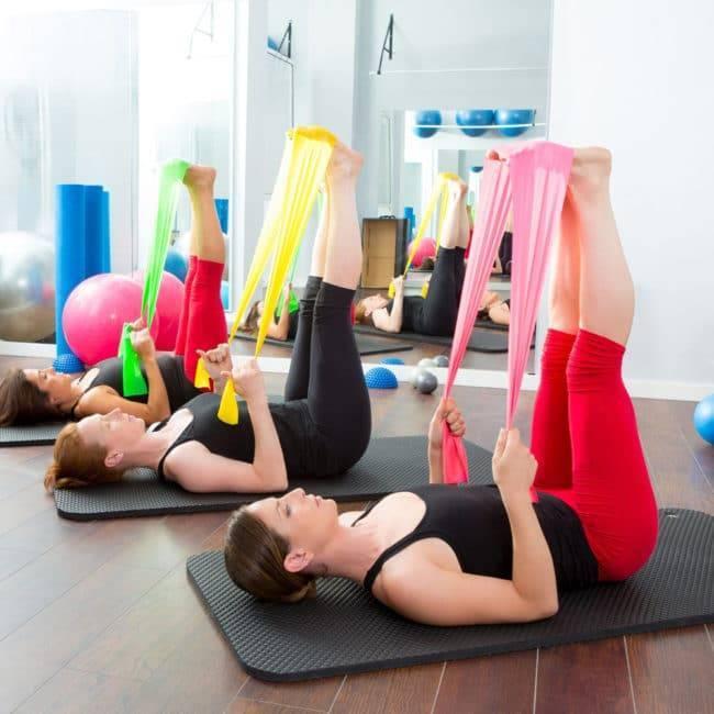 Bande de Yoga 6 couleurs