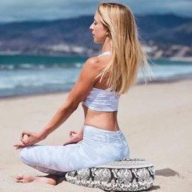 Coussin de méditation Indian Mandala