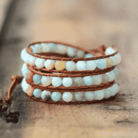 Bracelet aux Milles Planètes Bijoux en pierre naturelle Bracelet en pierre naturelle