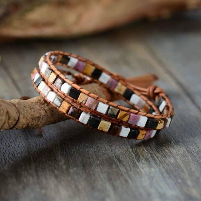 Bracelet esprit mosaïque