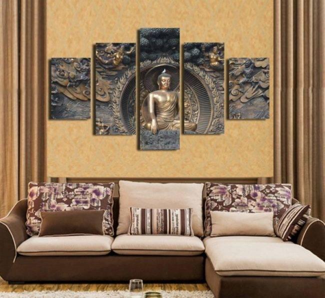 Tableau Statue de Bouddha