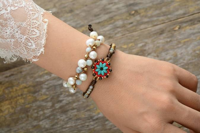 Bracelet Pierre Naturelle Courage Bijoux pierre naturelle Bracelet pierre naturelle