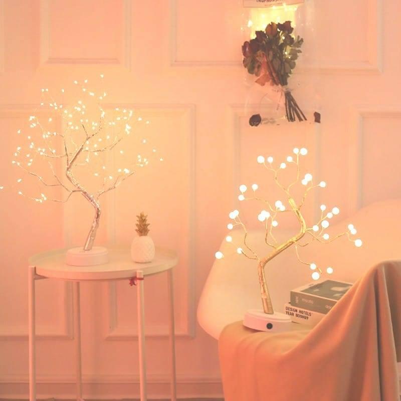 Bonsaï lumineux « Fleurs de Cerisier »