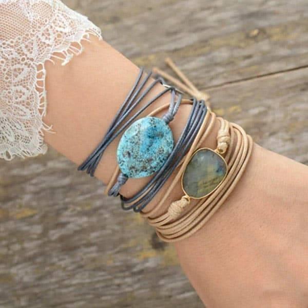 Bracelet Cœur de Jaspe