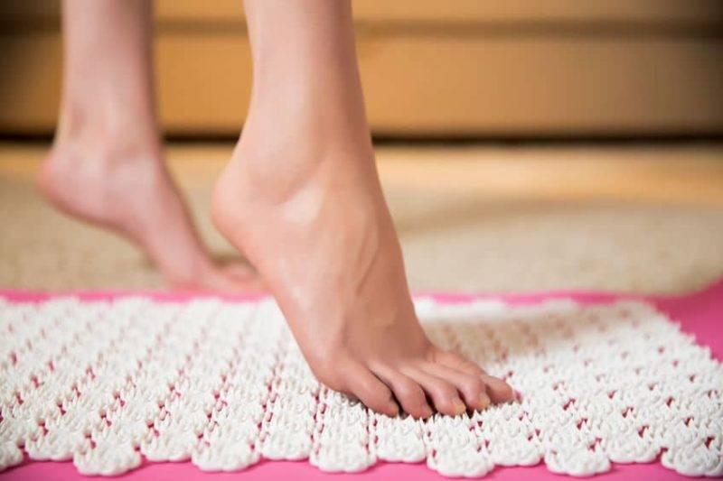 Laissez-vous tenter par le tapis d'acupression !