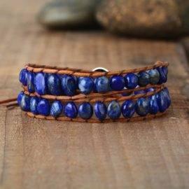 Bracelet en Lapis Lazuli