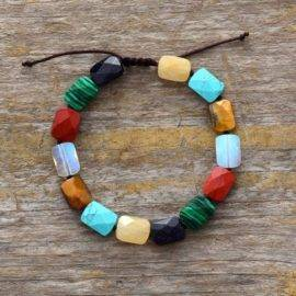 Bracelet 7 Chakras Nouvelle Edition