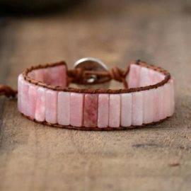 Bracelet de Jaspe Rose