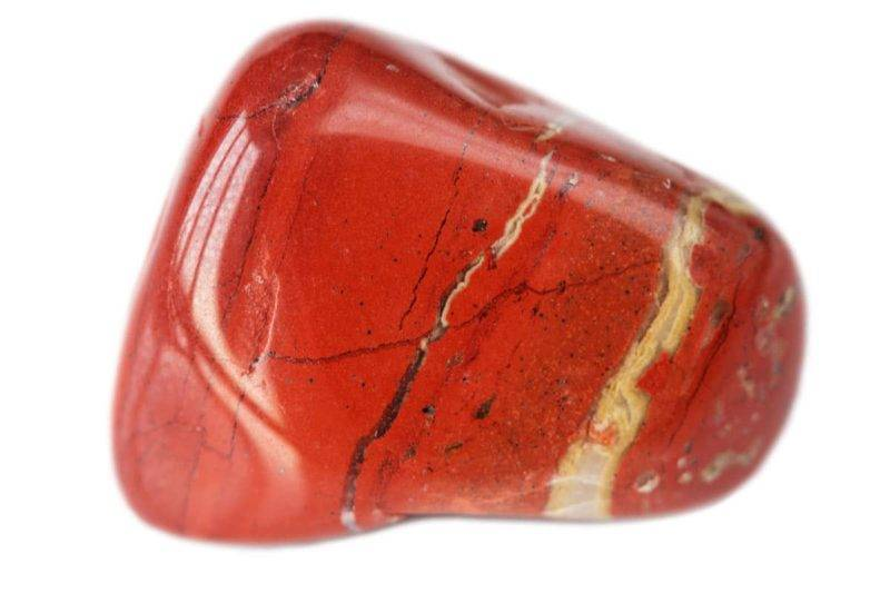 Pierre de jaspe rouge