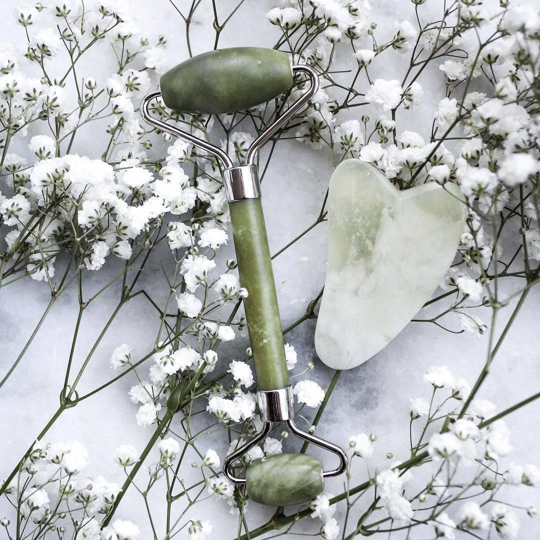Rouleau de jade véritable