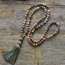 Collier Mala en Pyrite Naturelle