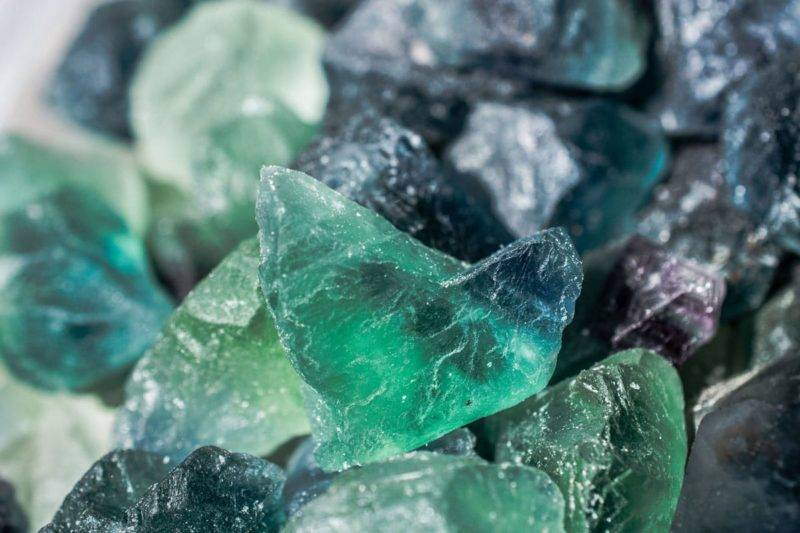 Fluorite naturelle