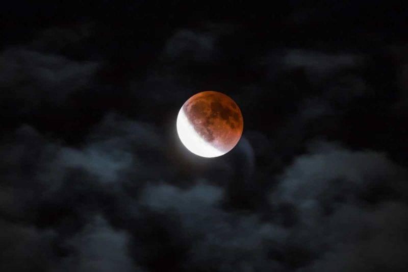 Lune de sang du 14 Avril, 2014 à Vancouver au Canada
