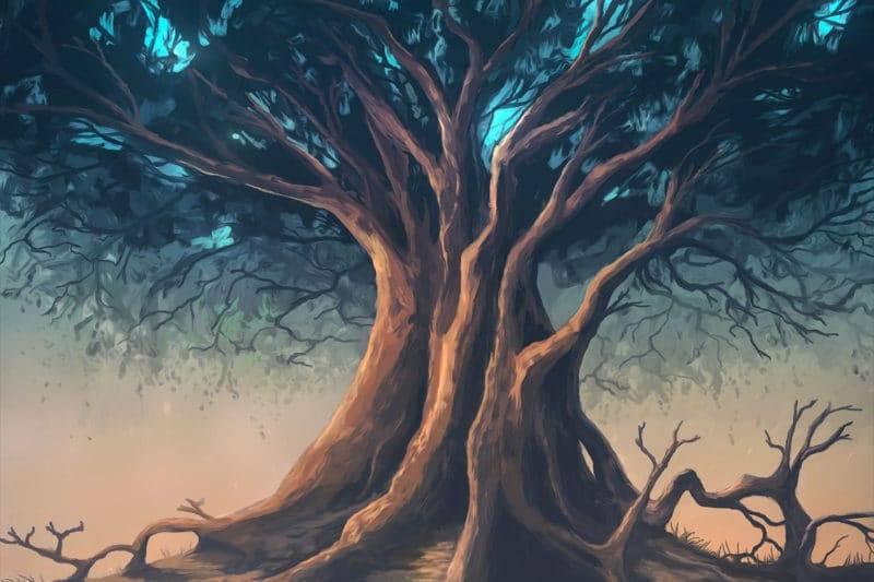 Dessin d'un arbre de vie