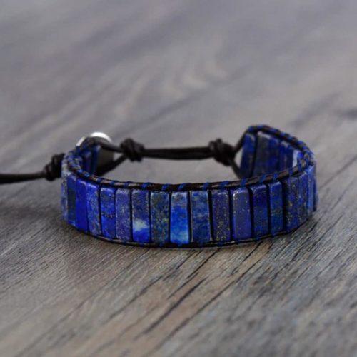 Bracelet Anti Douleur en Lapis Lazuli