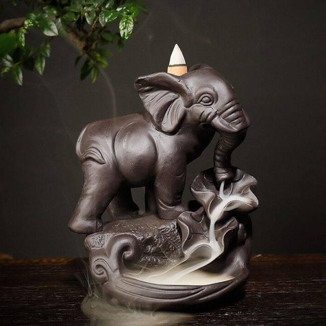 Brûleur d'encens Éléphant