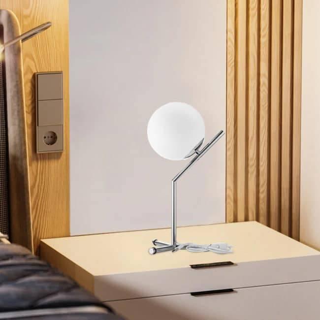 Lampe Lune de chevet Deco zen Lampe D'Ambiance