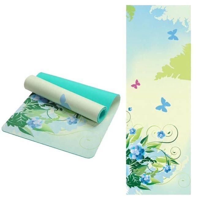 Tapis de Yoga Papillons