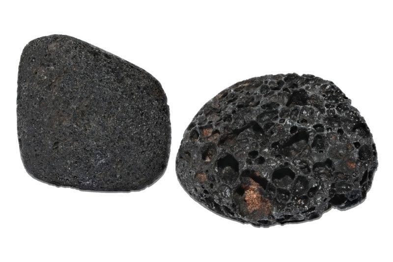 Deux pierres de lave