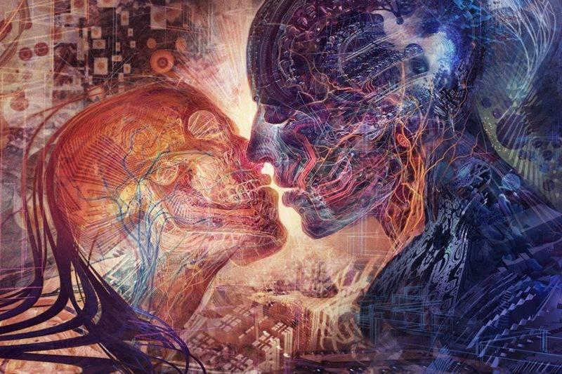 Concept abstrait des relations karmiques