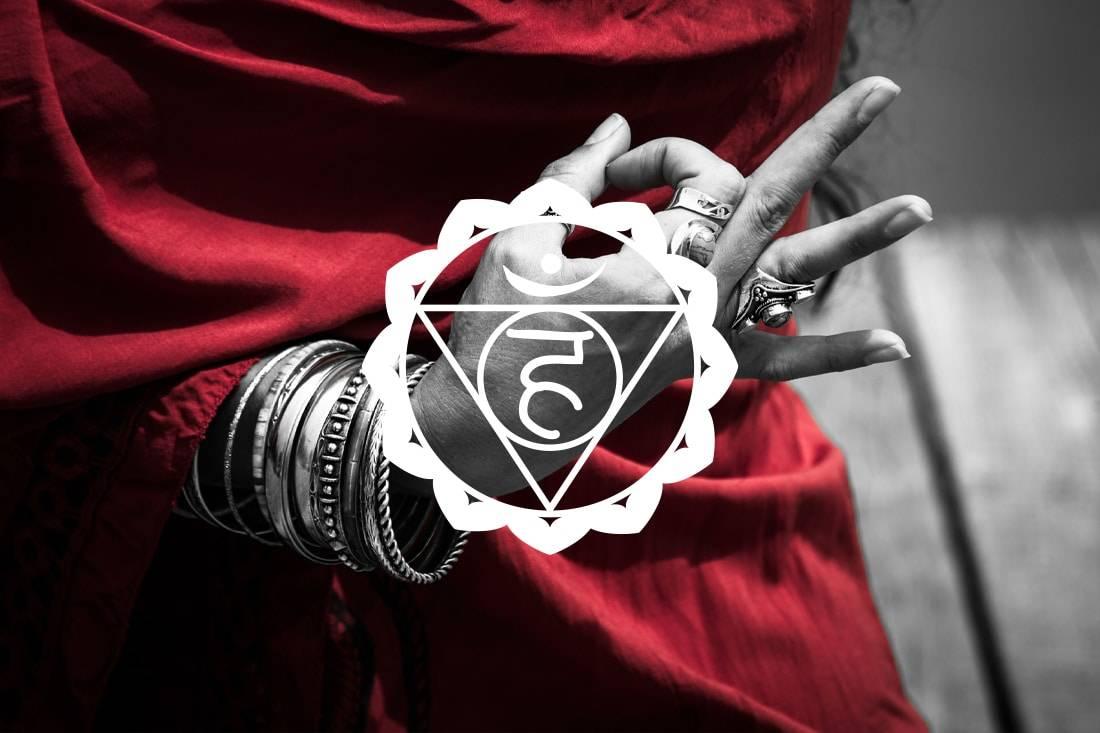 Symbole du 5ème chakra