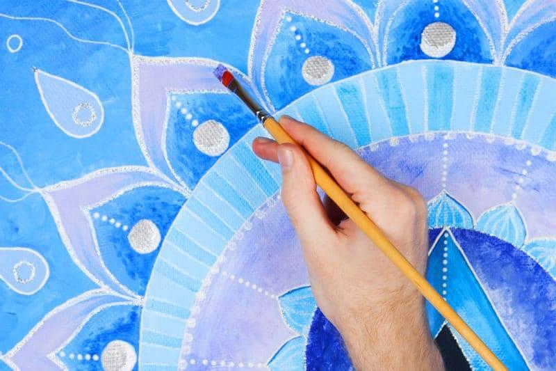 Peinture du 5ème chakra