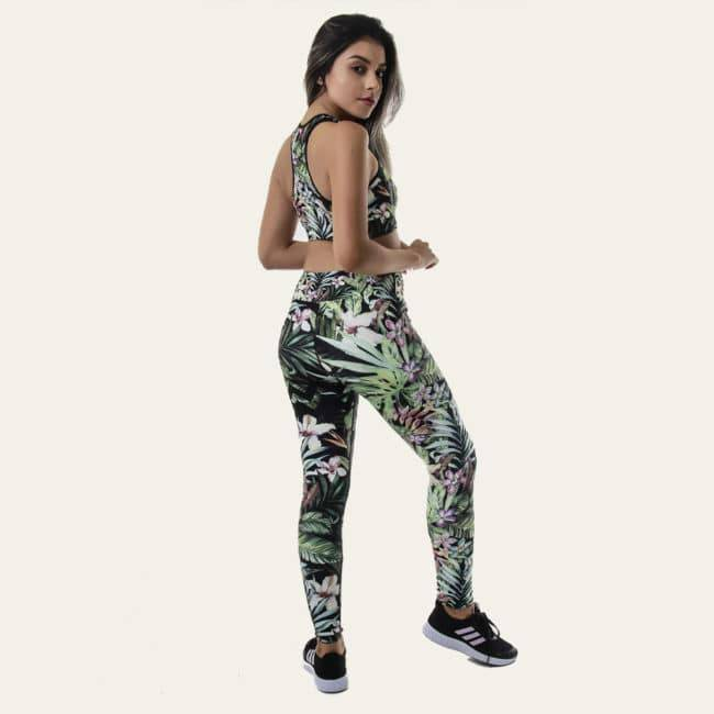 Legging Yoga «Amazonia» Legging Yoga