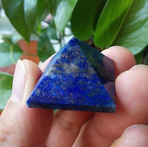 Pyramide anti-stress en Lapis Lazuli