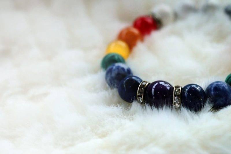 Significations et vertus du bracelet 7 chakras