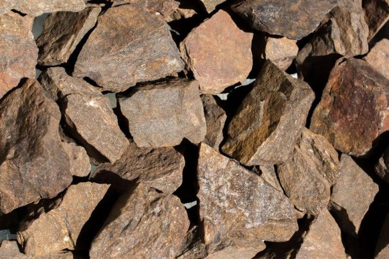 Bloc naturel de pierre de bronzite