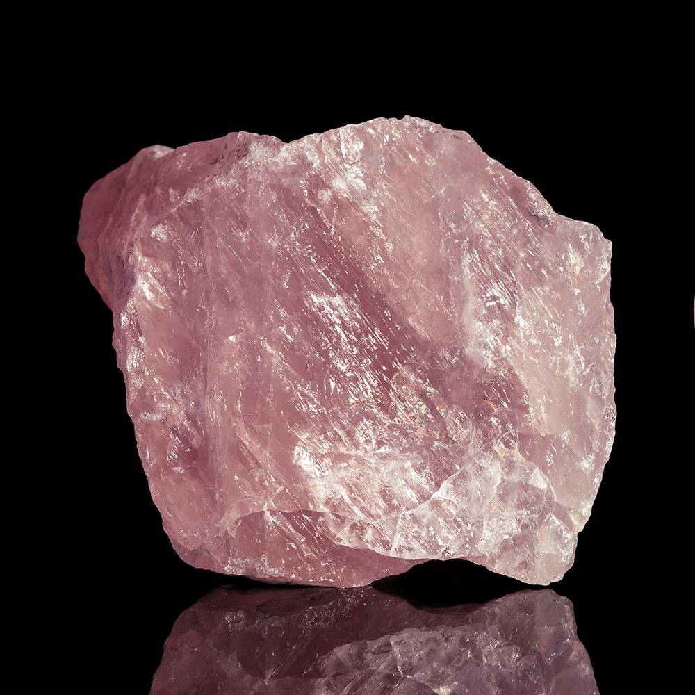 Cristal de Protection en Quartz Rose