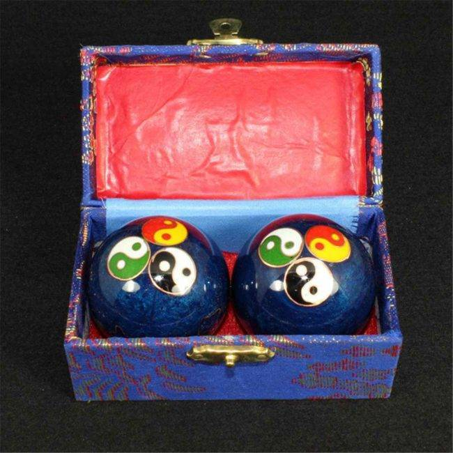 Boules chinoises de relaxation Qi Gong