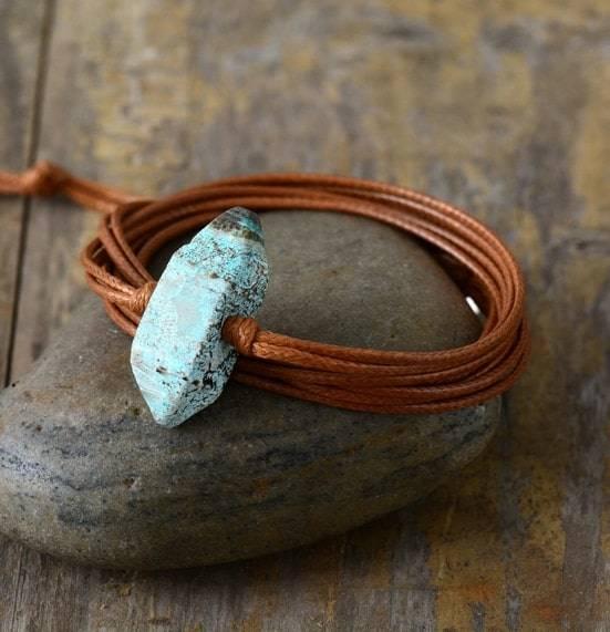 Bracelet de Jaspe Bleue