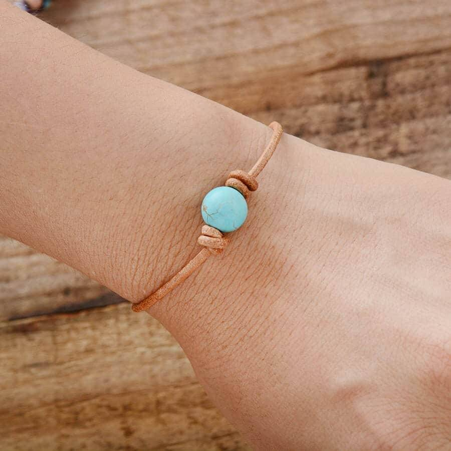 Bracelet perle de Turquoise