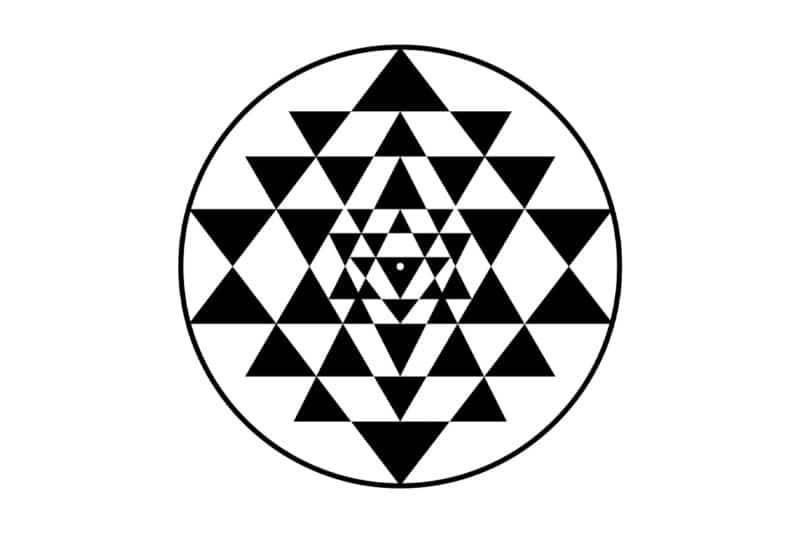 Symbole sacré du Sri Yantra