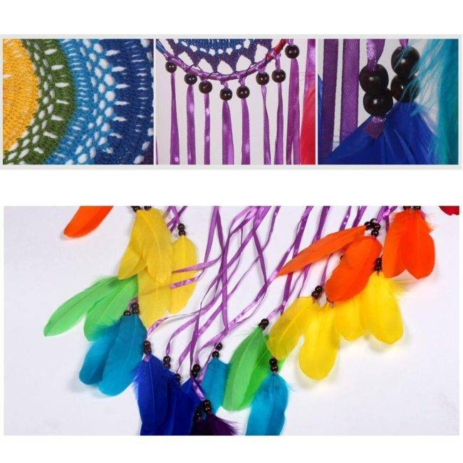 Attrape rêve multicolor