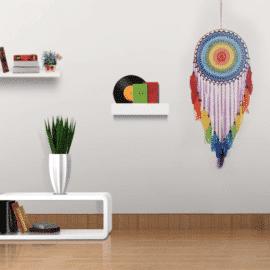 Attrape rêve multicolore