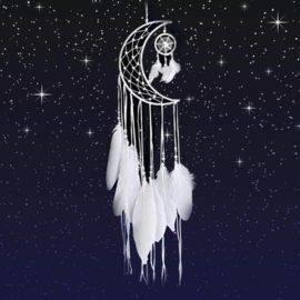 Attrapes-rêves croissant de lune