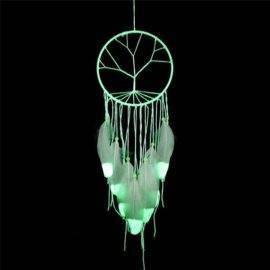 Attrape rêve arbre de vie fluorescent
