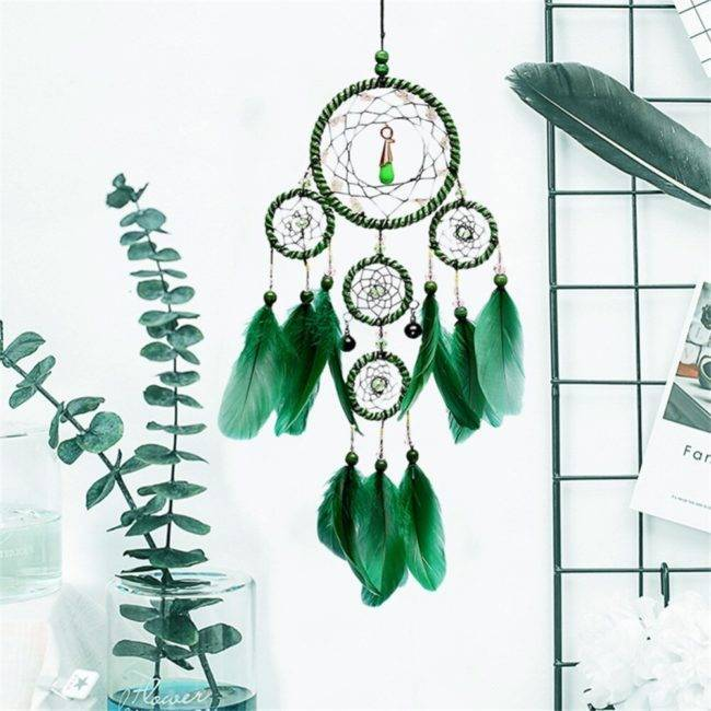 Attrape rêves vert
