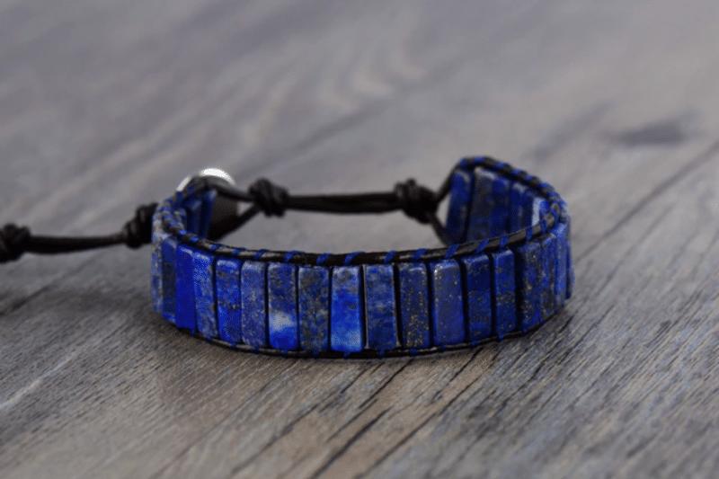 Bracelet en Lapis Lazuli aux nombreuses vertus