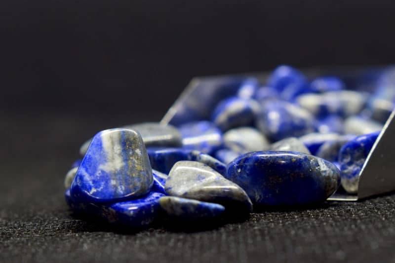 Pierres de lapis lazuli