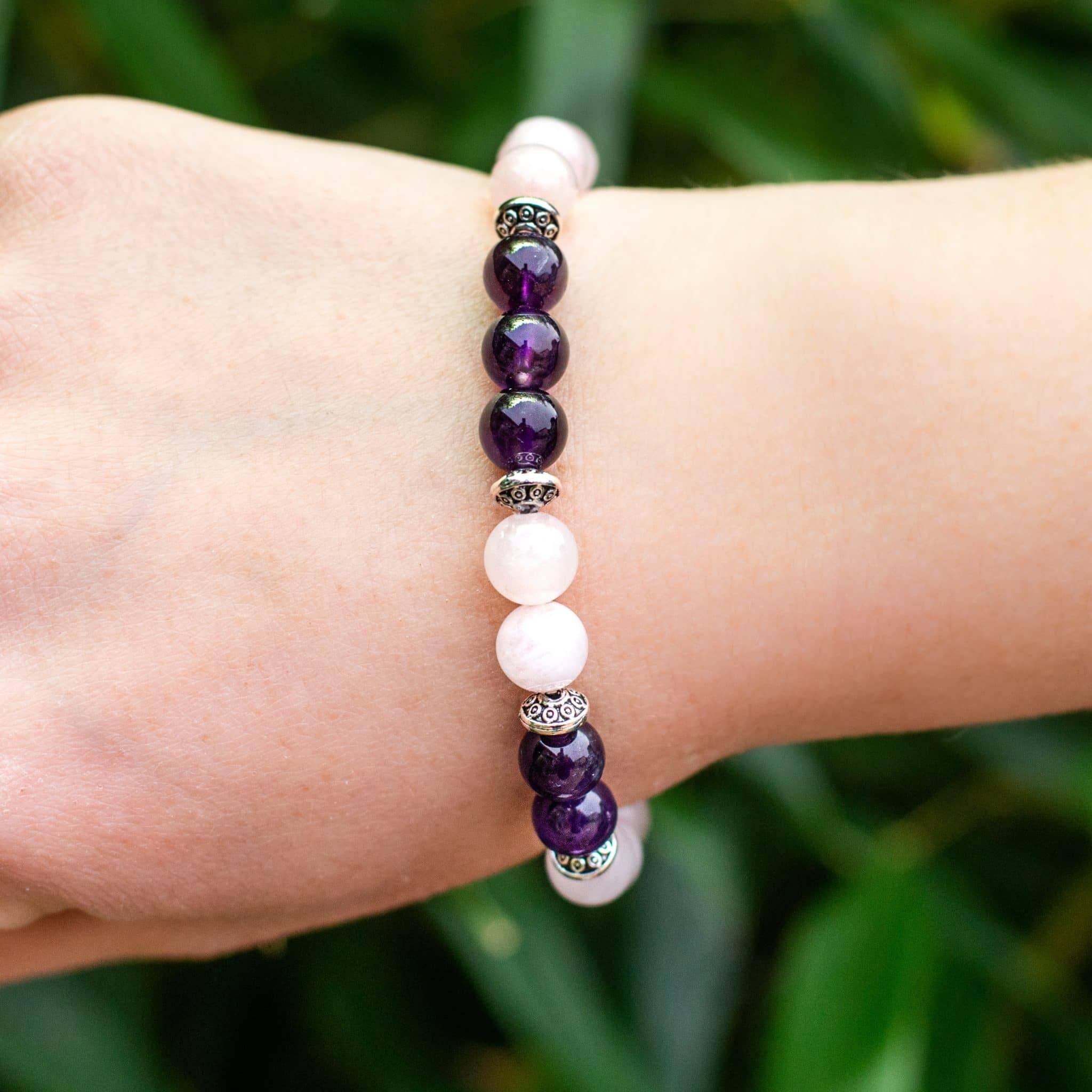 Bracelet Apaisant Bijoux pierre naturelle Boucles d'oreilles pierre naturelle Bracelet pierre naturelle