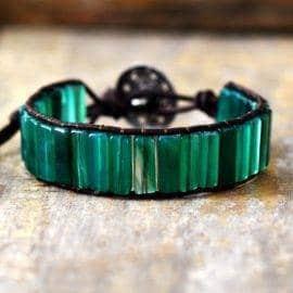Bracelet Quartz Vert Bijoux pierre naturelle Bracelet pierre naturelle
