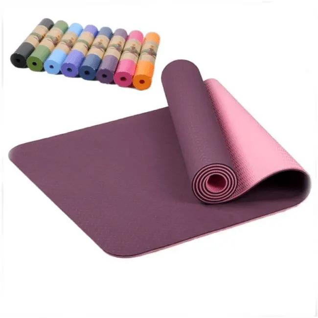 Insertion Blog : Tapis de Yoga Pastel