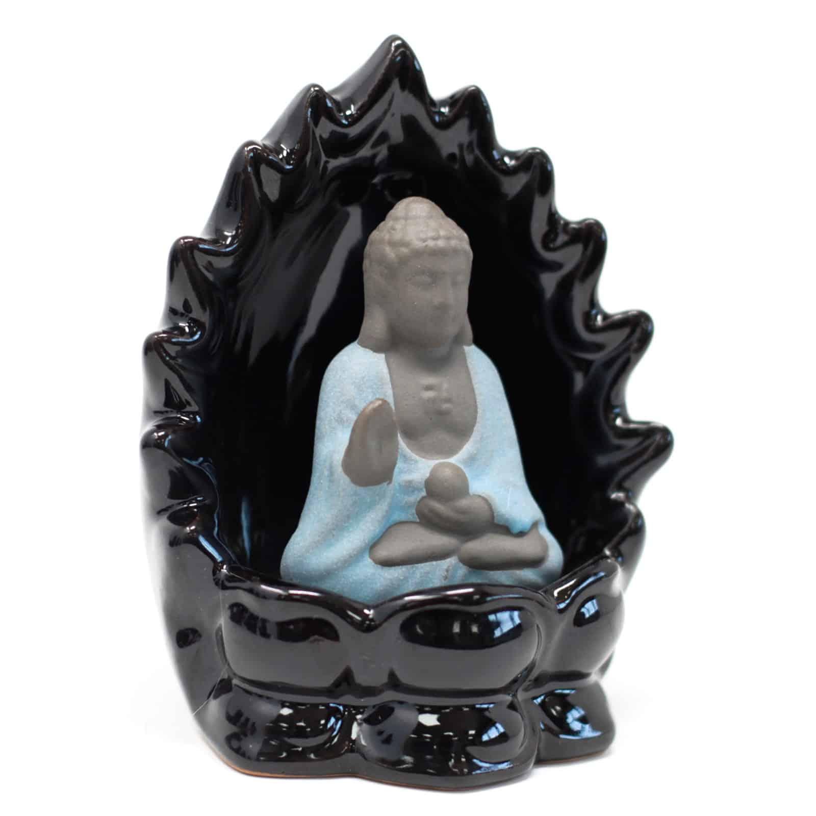 Porte Encens Bouddha Bleu Porte encens Porte Encens Bouddha Porte Encens Céramique