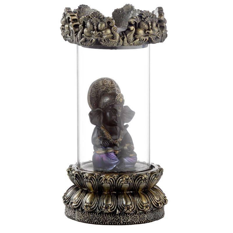 Brûleur Encens Ganesh En Tube Porte encens Porte Encens Bouddha Porte Encens Cascade Porte Encens Design