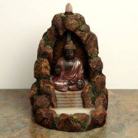 Porte encens à Refoulement Bouddha Zen Porte encens Porte Encens Bouddha Porte Encens Cascade Porte Encens Design